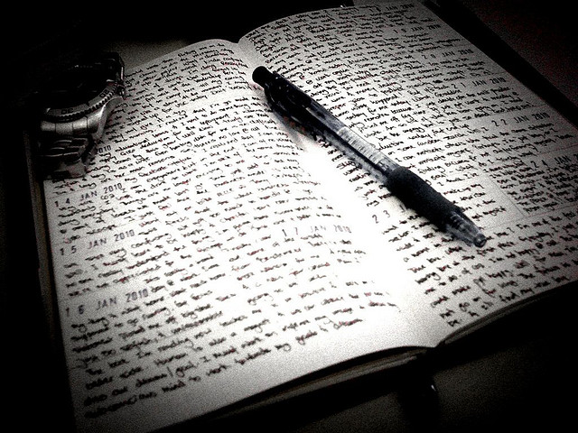 recovery through writing